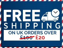US Shipping from £14.99