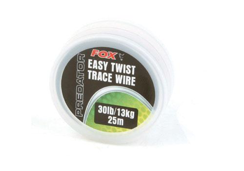 Fox Easy Twist Trace Wire 25m - £5.09