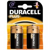 Duracell Plus D Batteries