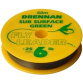 Drennan Subsurface Green Fly Leader 50m