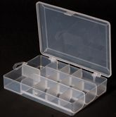 Leeda Clear Compartment Tackle Box