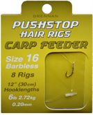 Drennan Pushstop Hair Rigs CARP FEEDER