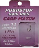 Drennan Pushstop Hair Rigs CARP MATCH