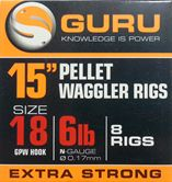 Guru 15inch Ready Rigs With Bait Bands
