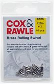 Cox & Rawle Brass Rolling Swivel