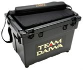 Daiwa Seat Box LARGE & FOC Padded Strap & Cushion