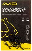 Avid Carp Quick Change Ring Swivels