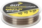 Avid Carp Outline Fluorocarbon Leaders