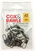 Cox & Rawle Brass Swivels & Interlock Snaps