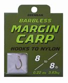 Drennan HOOKS TO NYLON BARBLESS Margin Carp