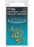 Drennan Latex Pellet Bands NATURAL