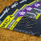 Matrix MXC-4 X-Strong Eyed Barbless Hooks
