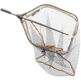 Savage Pro Folding Rubber Mesh Landing Net