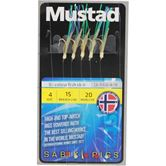 Mustad Bi-Colour Fish Skin Rigs
