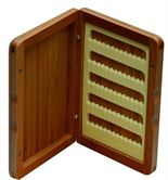Turrall Bamboo Slimline Fly Box (Small)