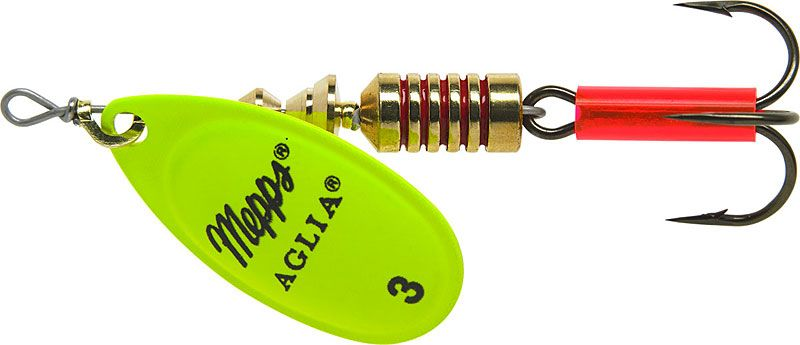 Mepps aglia copper no 1 for Mepps fishing lures