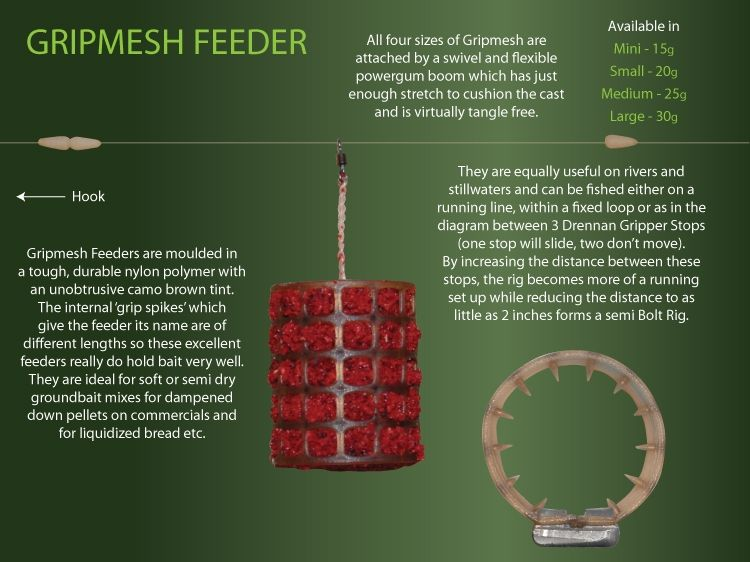 Drennan Gripmesh Feeders