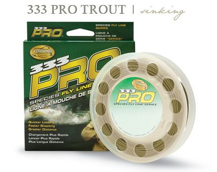 Cortland 333 Classic Trout Fly Line