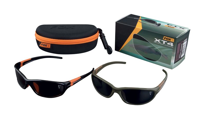 3aca72b45a6 Fox XT4 Polarised Sunglasses Black Orange Frame Grey Lens - £19.99