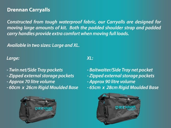 Free Delivery Drennan Large Carryall *Brand New*