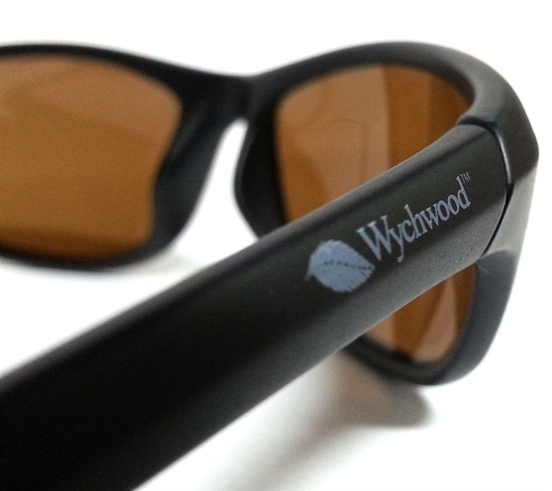 663871044f2 Wychwood Black Wrap Around Polarised Sunglasses (Brown Lenses) - £15.99