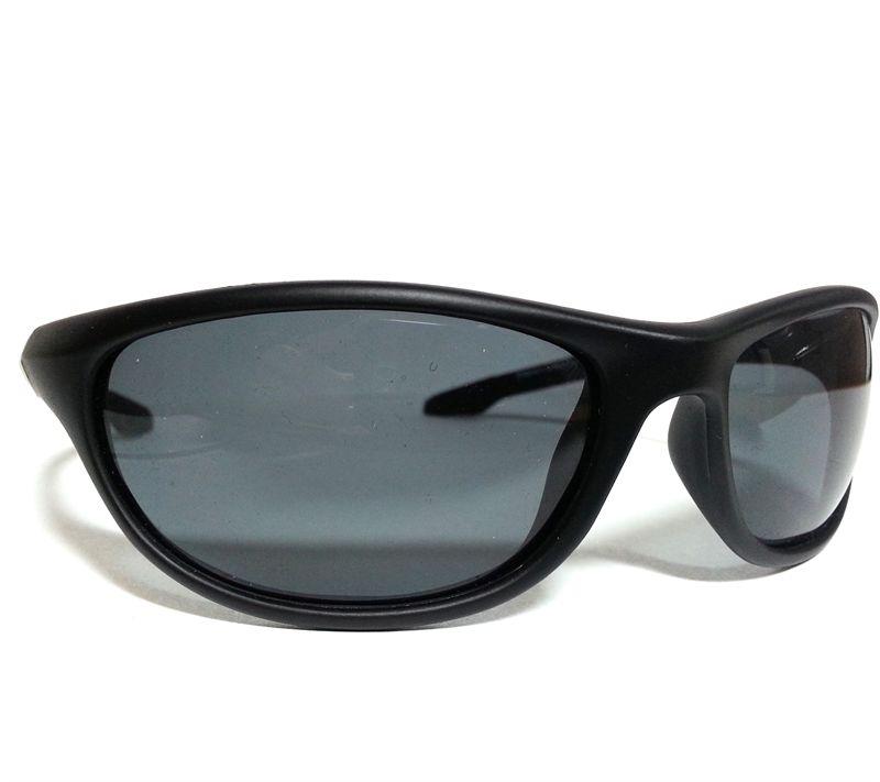 7d8248b8200 Wychwood Black Wrap Around Polarised Sunglasses (Smoke Lenses) - £15.99