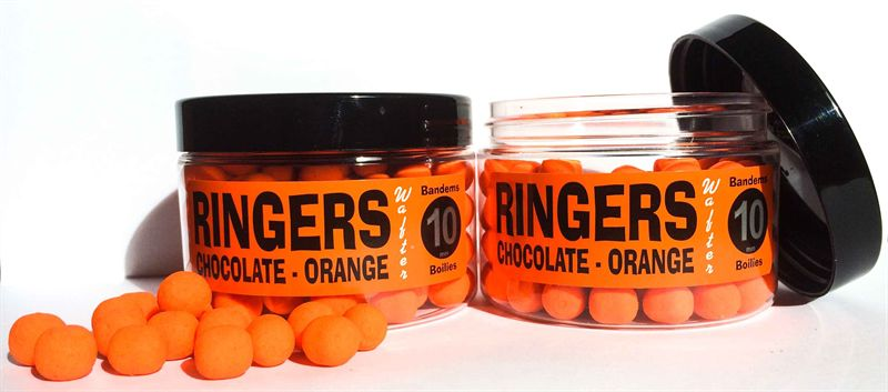 Ringers Bandem Wafters Allsorts Chocolate Fishing Bait Boilies 70g 6mm
