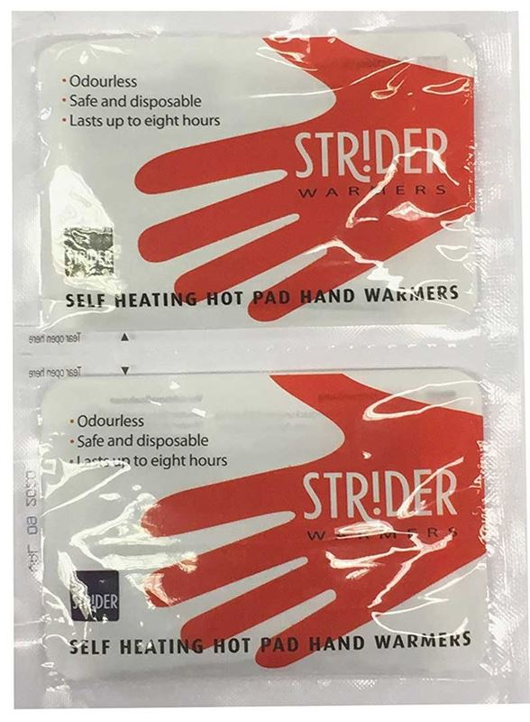 Strider Hot Pad Hand Warmers