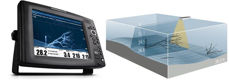Humminbird helix 12 g2n gps fishfinders 1 for How to read a humminbird fish finder