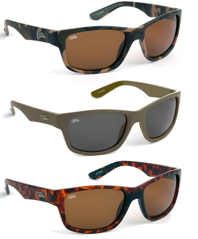 Fox Chunk Sunglasses Camo / Brown Lense q59qaYlX