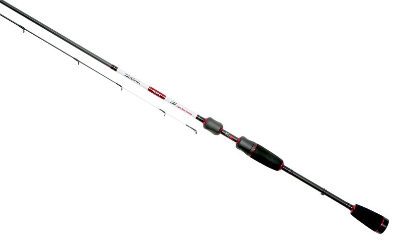 Daiwa lrf light rock fishing rod for Light fishing rods