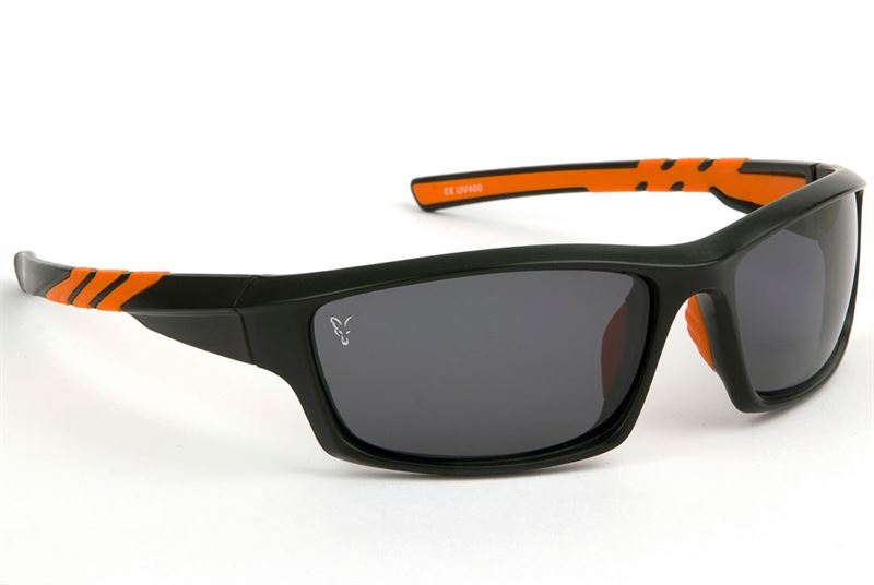 Fox Sunglasses Black / Orange Wraps Grey Lense rZM8dFPGm