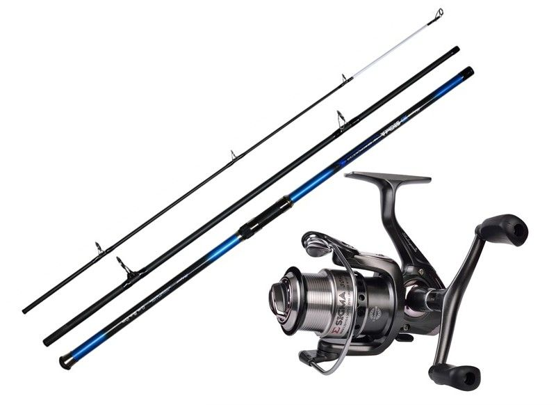 Shakespeare sigma surf combo rod reel for Surf fishing rods and reel combos