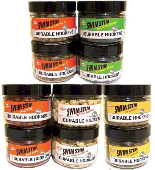 Dynamite Baits Swim Stim Durable Hookers Soft Fishing Hook Pellets Hookbait