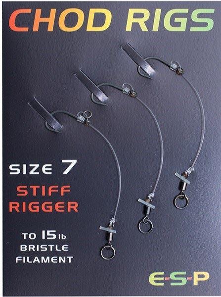 STIFF RIGGER 3 PER PACK FREE UK P /& P ESP CARP FISHING CHOD RIGS