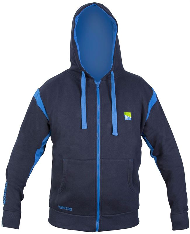 Search For. Go. Preston Innovations Navy Zip Front Hoodie 4e3460a64c5