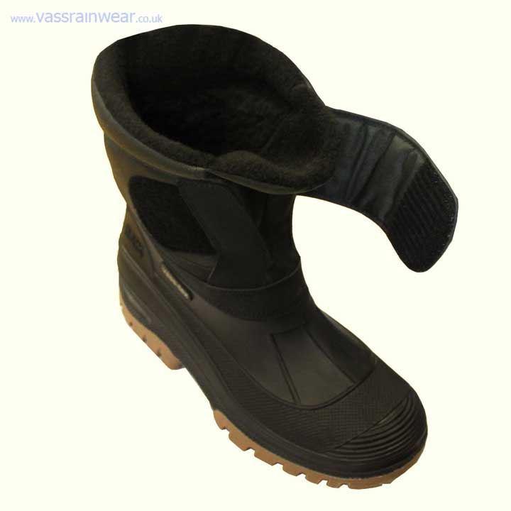 Vass Fleece Lined Velcro Boots - £59.99