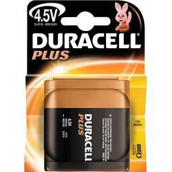 Duracell Plus 4.5V Battery
