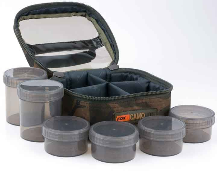 Fox Camolite Glug 8 Pot Case Carp fishing tackle