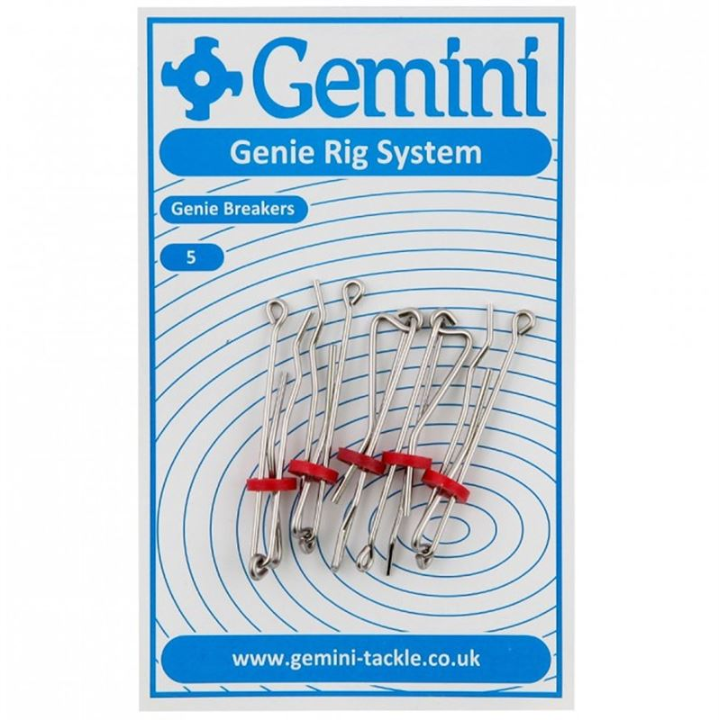 gemini genie breakers for fishing with rotten bottom rigs.